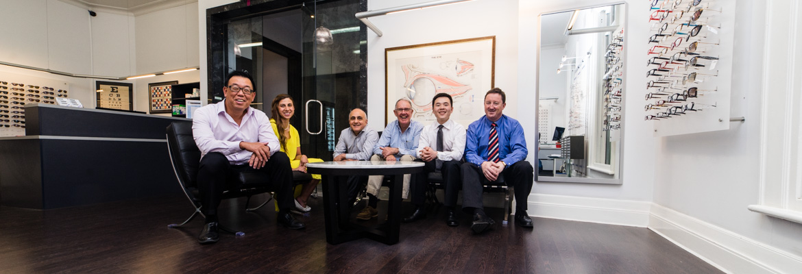 meet the team at Collins Street Optometrists
